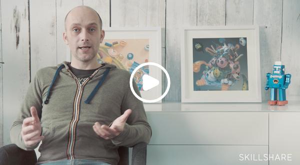 Take Jon's FREE Skillshare class—featuring Affinity Designer!